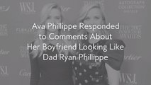 Ava Phillippe Responded to Comments About Her Boyfriend Looking Like Dad Ryan Phillippe