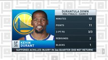Tiki and Tierney: Kevin Durant's injury leaves everyone emotional