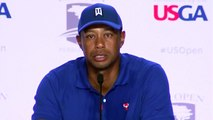 Tiger Woods speaks ahead of the U.S. Open