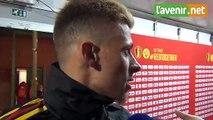 Belgique-Ecosse 3-0: réaction de Thorgan Hazard