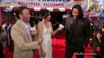 Keanu Reeves Didn't Know He was the Newest Internet Boyfriend