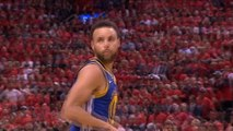 Curry hits late three to tie scores