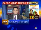 May CPI, April IIP due today