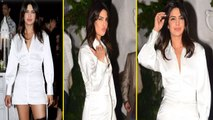 Priyanka Chopra looks hot in white dress at The Sky is Pink wrap party; Watch  Video   Boldsky