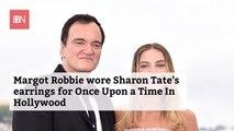 Margot Robbie Wore Sharon Tate's Actual Earrings