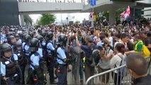 Mobilisation à Hong Kong contre le projet de loi d'extraditions vers la Chine