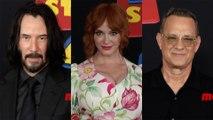 """Toy Story 4"" World Premiere Red Carpet Arrivals Keanu Reeves, Christina Hendricks, Tom Hanks"