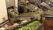 Santé : Les salades en sachet, c'est oui ou c'est non ? Découvrez la vérité... Vidéo