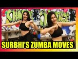 Ishqbaaaz actress Surbhi Chandna's unmissable Zumba moves
