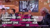 """Maxime Le Forestier : sa première télé """"perturbée"""" par Johnny Hallyday et Michel Polnareff"""