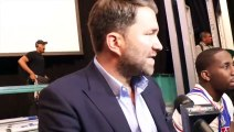 'IT MIGHT BE 2021 BEFORE DEONTAY WILDER IS AVAILABLE! - ITS B******* !' - EDDIE HEARN RANT ON WILDER