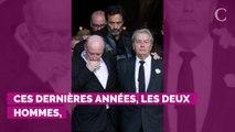 Alain Delon marqué par les mots de son ami Jean-Paul Belmondo, à la mort de Mireille Darc