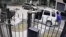 Deux voleurs attaquent un homme mais ne s'attendaient pas à tomber sur ses gardes du corps
