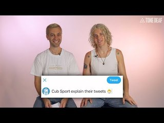 Cub Sport Explain Their Tweets | Interview
