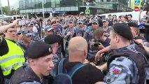 Já são 400 detidos em Moscou