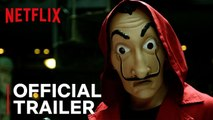Money Heist: Part 3 - Official Trailer - Netflix