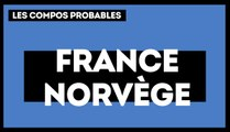 France-Norvège les compositions probables