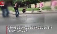 İstanbul'un göbeğinde büyük soygun!