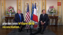 D-Day : ce problème diplomatique (de taille) entre Trump et Macron