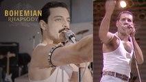 "Bohemian Rhapsody   Live Aid Side by Side: ""We Will Rock You""    20th Century FOX"