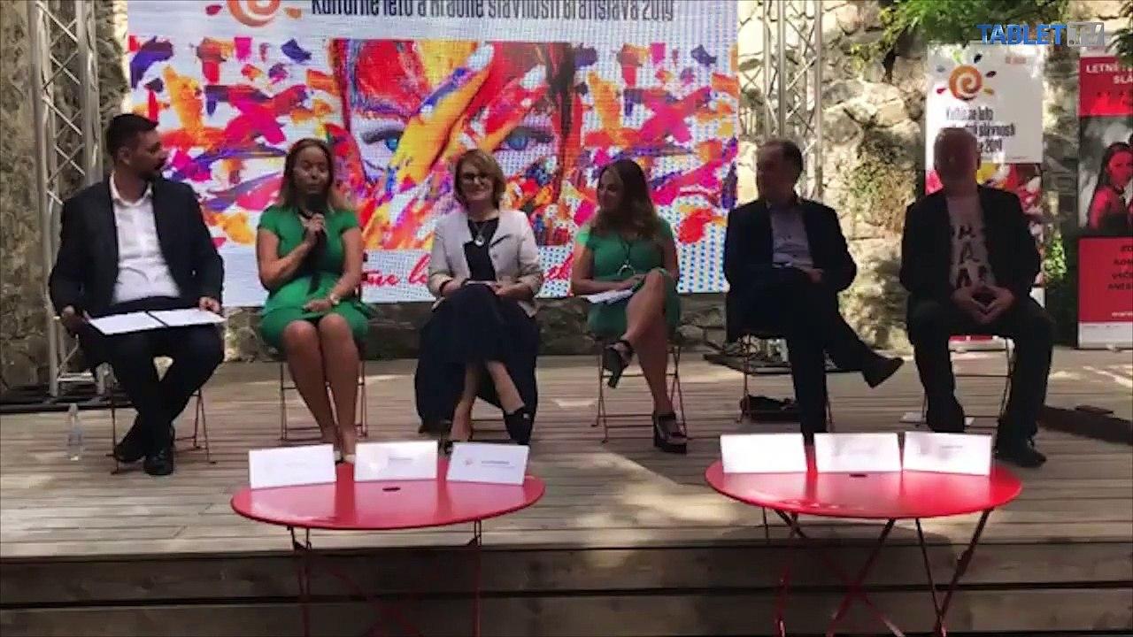 ZÁZNAM: TK o festivale Kultúrne leto a Hradné slávnosti Bratislava 2019