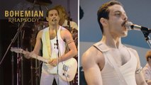 """Bohemian Rhapsody   Live Aid Side by Side: """"Crazy Little Thing Called Love""""    20th Century FOX"""