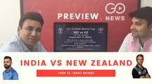ICC CWC19: India vs New Zealand (Preview)