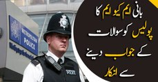 Founder of MQM refuses to answer London police questions