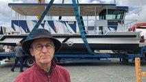 Bruno Blouch, artiste peintre en charge de la décoration du Vachic