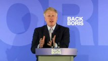 Boris Johnson launches his Tory leadership campaign