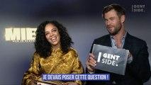 Chris Hemsworth et Tessa Thompson en interview pour Men In Black International