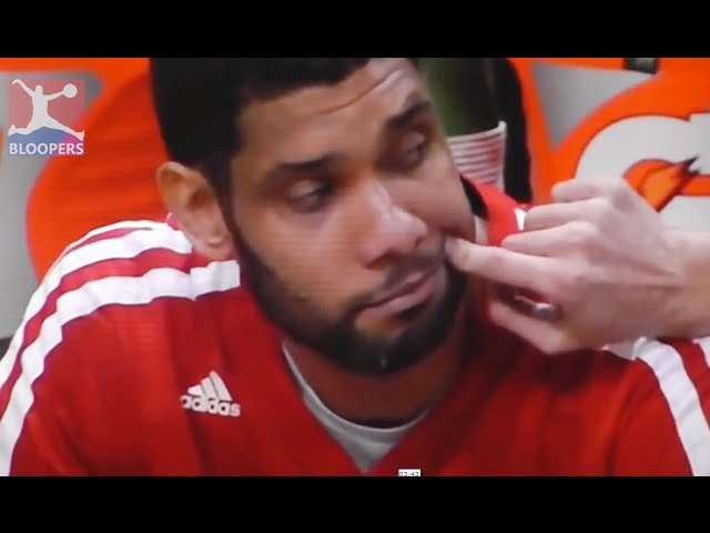 Tim Duncan Funniest Moments 1 ► NBA Bloopers