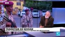 """Au Soudan, """"reprise des négociations ne veut pas dire immédiate et sans conditions"""""""