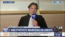 """Frédéric Péchier reste libre: pour son avocat, """"plus qu'une satisfaction, c'est un soulagement"""""""