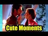 Arnav and Khushi cute romantic moments from 'Iss Pyaar Ko Kya Naam Doon'