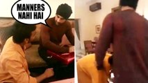 fan meets Ranbir Kapoor and touches his feet, the actor ends up getting trolled