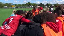 D1F : Guingamp  Paris St Germain (1-1) - Réactions de Louise Fleury et Julie Debever