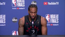 Kawhi Leonard is Just Happy to Be Hooping Again After Last Year's Injury