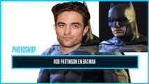 Photoshop : Robert Pattinson devient Batman