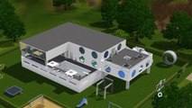 SIMS-Architekt: Hier entsteht ein cooles Hightech-House