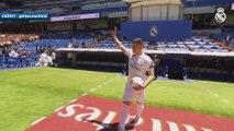 Les premiers pas de Luka Jovic à Santiago Bernabeu
