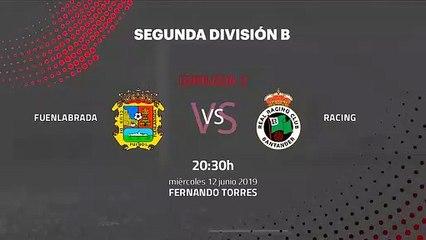 Previa partido entre Fuenlabrada y Racing Jornada 3 Segunda B - Play Offs Ascenso