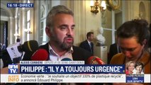 """Discours d'Édouard Philippe: Alexis Corbière décrit """"un long exercice d'autosatisfaction confus et ennuyeux"""""""