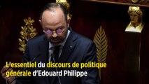 L'essentiel du discours de politique générale d'Edouard Philippe