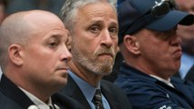 Jon Stewart Takes A Stand For 9/11 First Responders