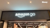 We visited Amazon's new store in NYC where you can take whatever you want without 'paying' at a cash register