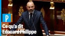 Les cinq points à retenir du discours de politique générale d'Edouard Philippe