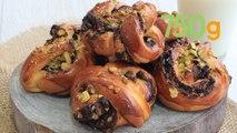 Recette de babka au chocolat et pistaches - 750g