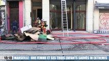 Marseille : des témoignages poignants après le sauvetage héroïque de trois enfants lors d'un incendie rue de Rome