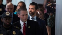 Trump Jr. Stands By 2017 Appearance After Closed Interview With Senate Committee